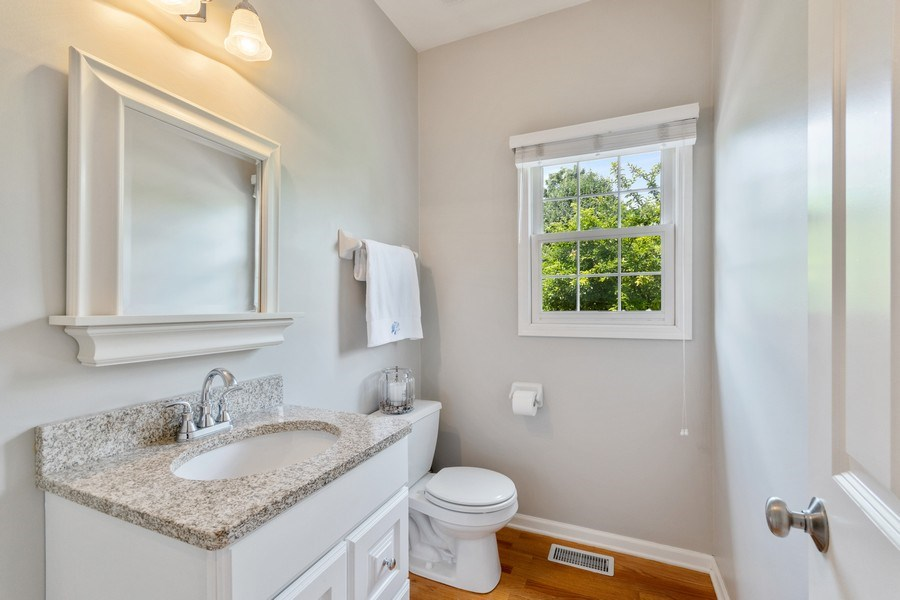 Real Estate Photography - 40W186 Jack London Street, St. Charles, IL, 60175 - Half Bath
