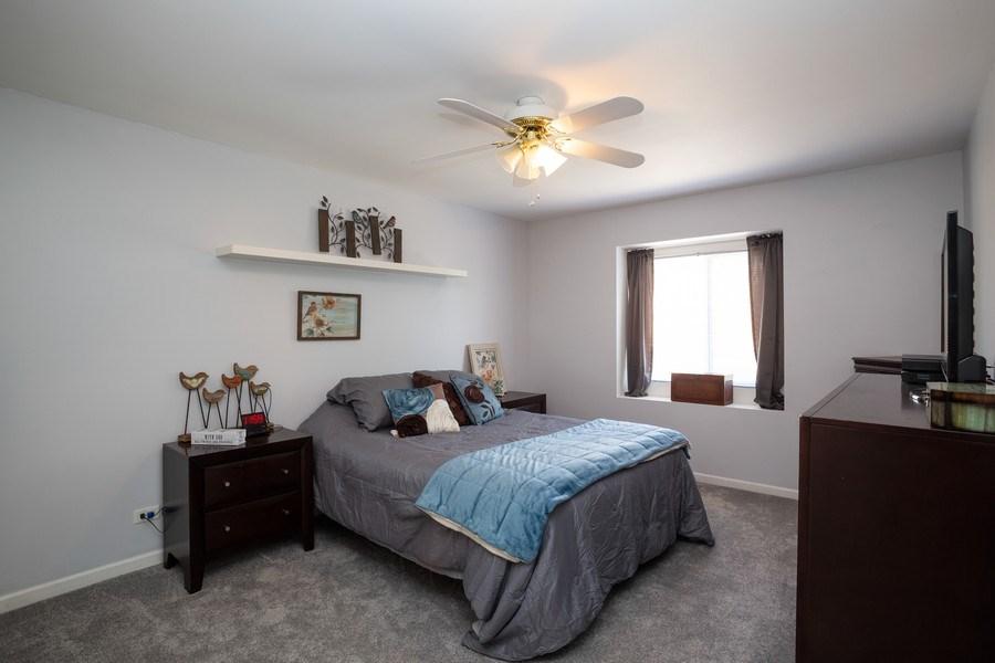 Real Estate Photography - 189 Martha Street, Bensenville, IL, 60106 - Master Bedroom