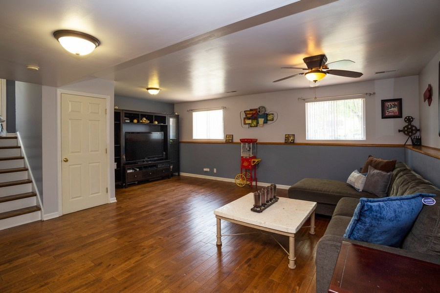Real Estate Photography - 189 Martha Street, Bensenville, IL, 60106 - Family Room
