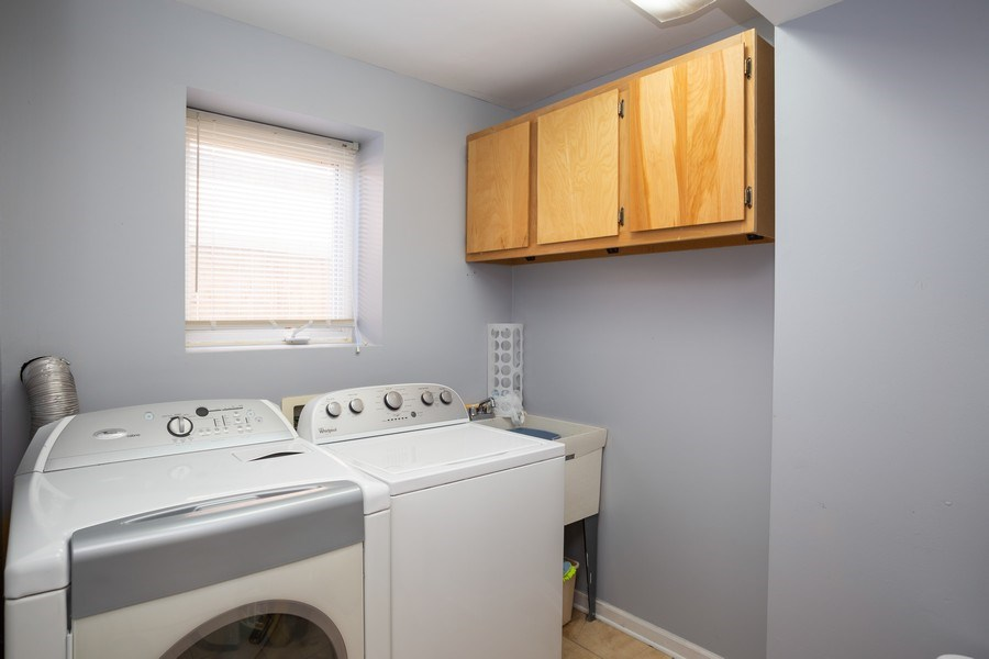 Real Estate Photography - 189 Martha Street, Bensenville, IL, 60106 - Laundry Room