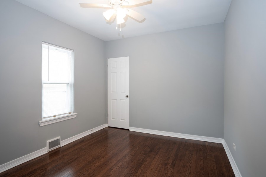 Real Estate Photography - 3127 Highland Avenue, Berwyn, IL, 60402 - 2nd Bedroom