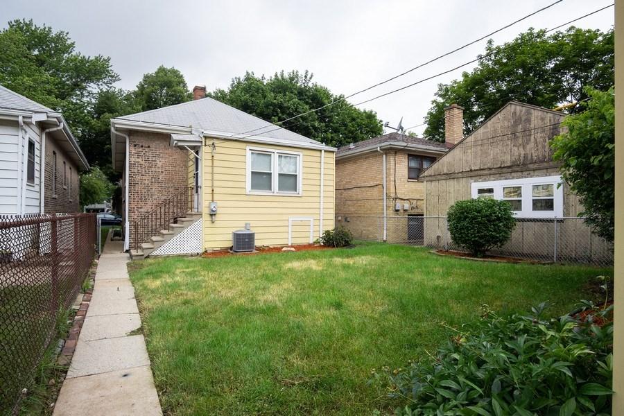 Real Estate Photography - 3127 Highland Avenue, Berwyn, IL, 60402 - Back Yard