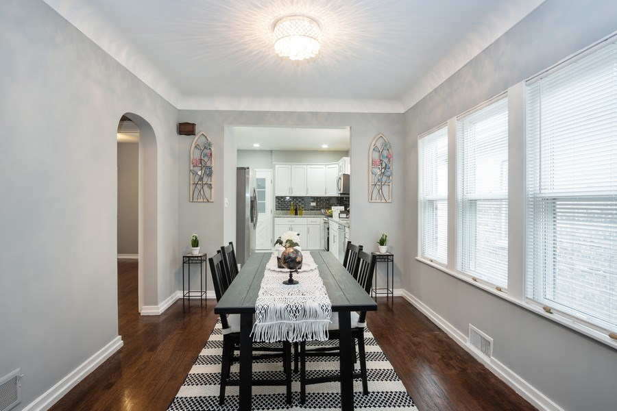 Real Estate Photography - 3127 Highland Avenue, Berwyn, IL, 60402 - Dining Area