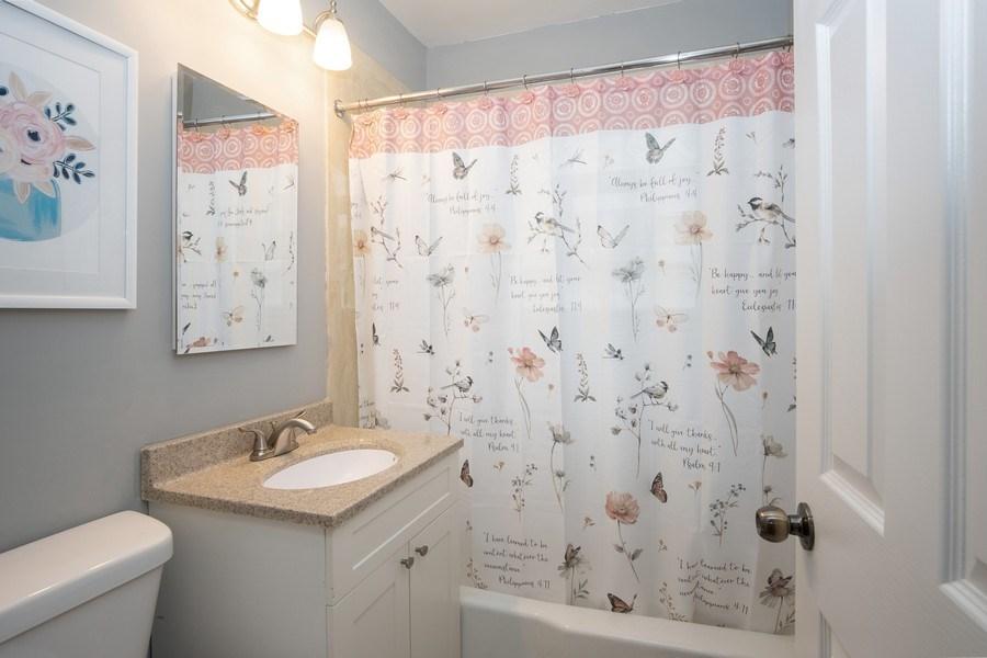 Real Estate Photography - 3127 Highland Avenue, Berwyn, IL, 60402 - Bathroom