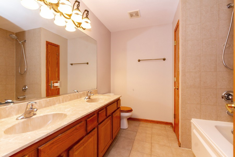 Real Estate Photography - 6810 White Egret Ct, Tinley Park, IL, 60477 - Master Bathroom