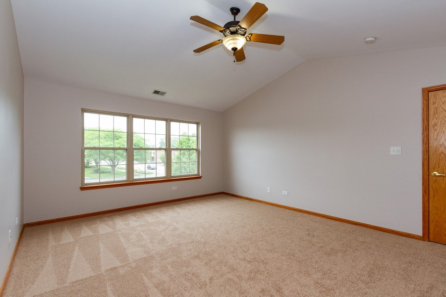 Real Estate Photography - 6810 White Egret Ct, Tinley Park, IL, 60477 - Master Bedroom