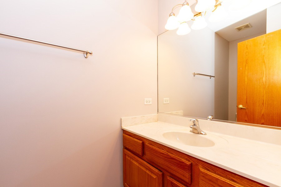 Real Estate Photography - 6810 White Egret Ct, Tinley Park, IL, 60477 - 2nd Bathroom
