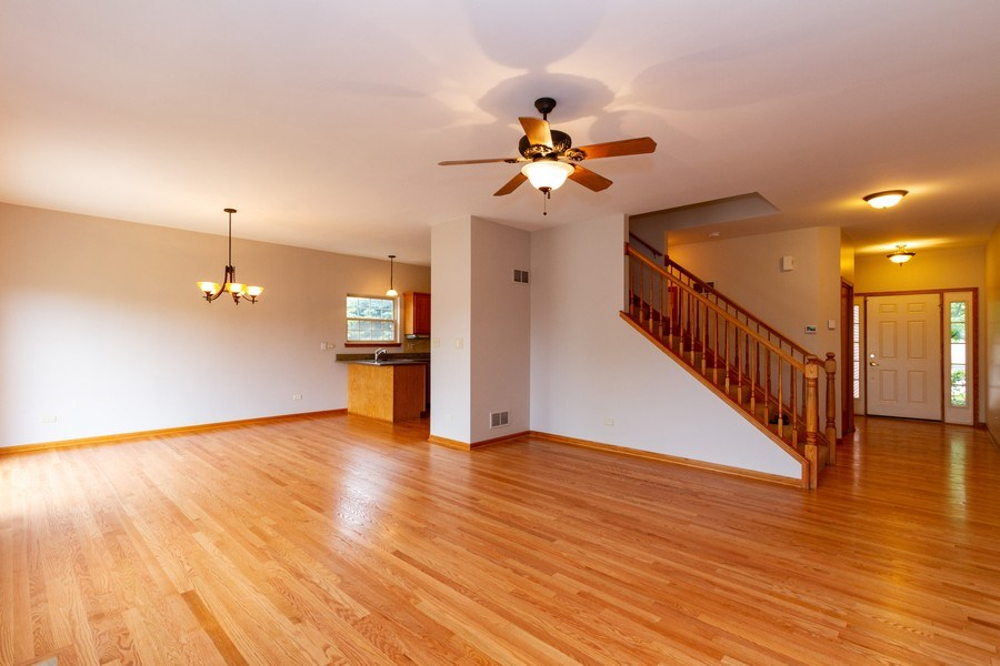 Real Estate Photography - 6810 White Egret Ct, Tinley Park, IL, 60477 - Living Room / Dining Room