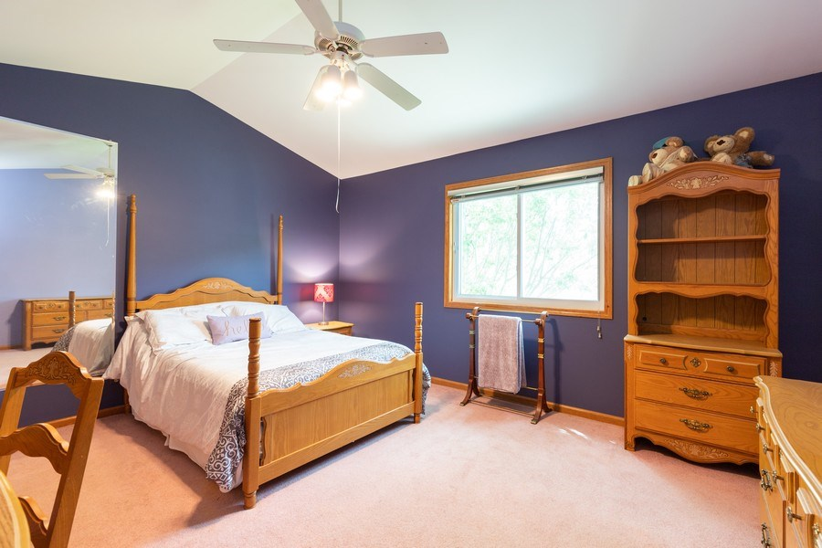 Real Estate Photography - 297 North Cambridge Ct, Grayslake, IL, 60030 - 2nd Bedroom