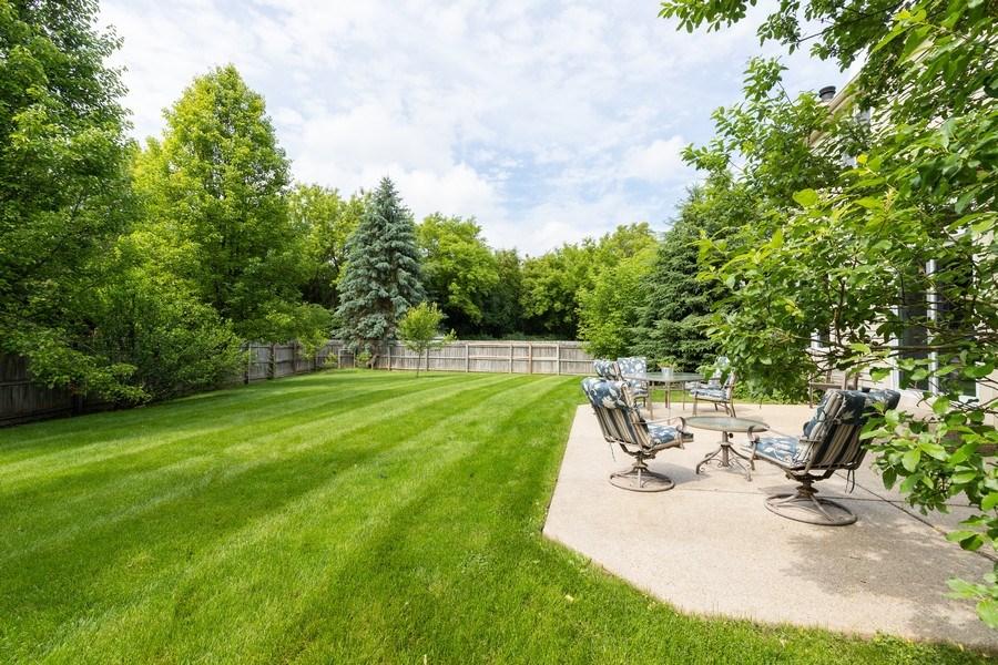Real Estate Photography - 297 North Cambridge Ct, Grayslake, IL, 60030 - Back Yard