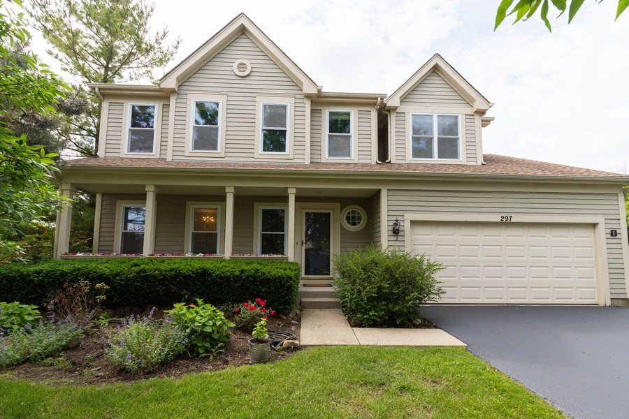 Real Estate Photography - 297 North Cambridge Ct, Grayslake, IL, 60030 - Front View