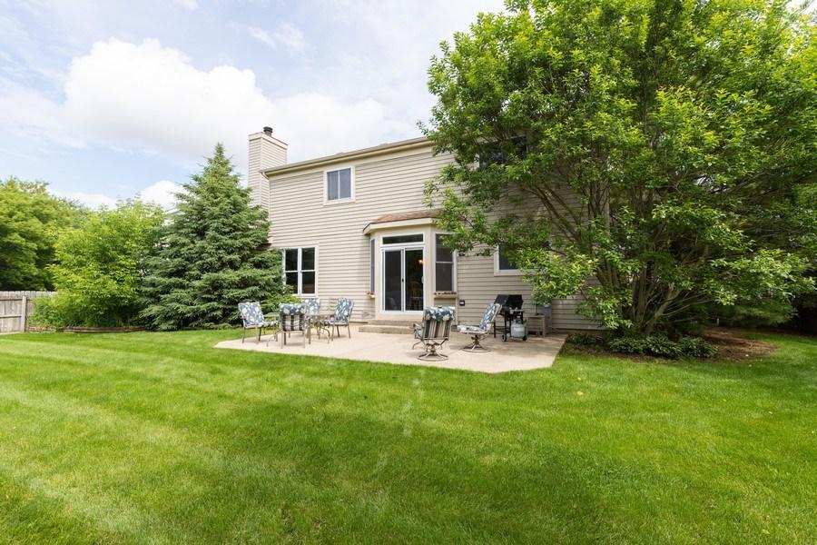 Real Estate Photography - 297 North Cambridge Ct, Grayslake, IL, 60030 - Rear View