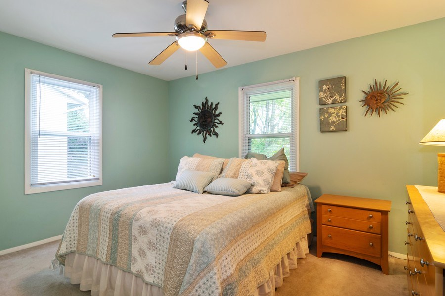 Real Estate Photography - 1270 Fellows Street, St. Charles, IL, 60174 - Master Bedroom