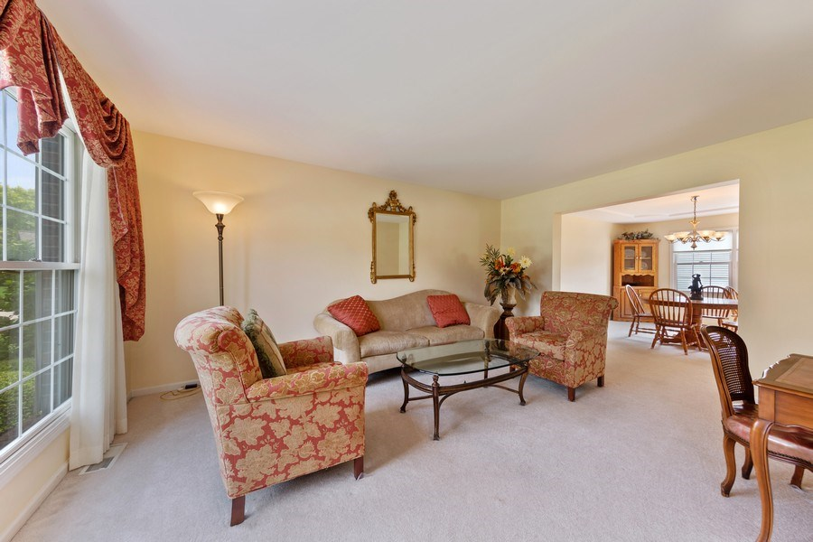 Real Estate Photography - 24265 Eagle Chase Drive, Plainfield, IL, 60544 - Living Room