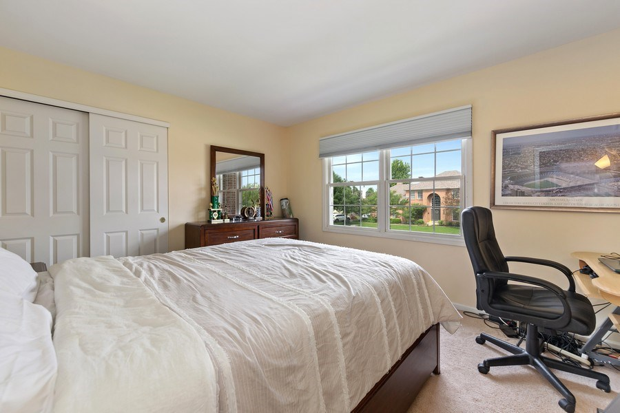 Real Estate Photography - 24265 Eagle Chase Drive, Plainfield, IL, 60544 - 2nd Bedroom