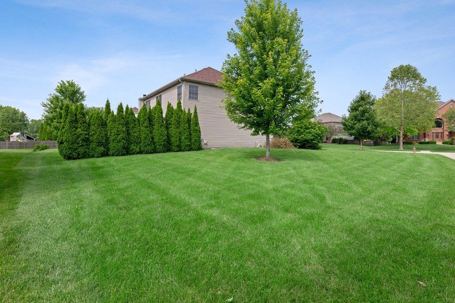 Real Estate Photography - 24265 Eagle Chase Drive, Plainfield, IL, 60544 - Back Yard
