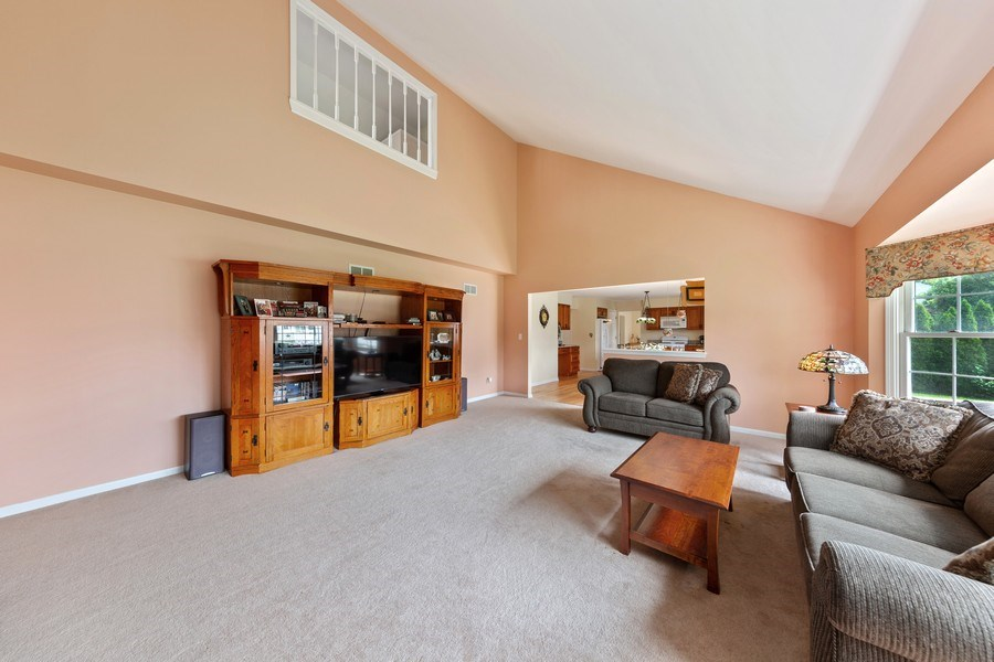 Real Estate Photography - 24265 Eagle Chase Drive, Plainfield, IL, 60544 - Family Room