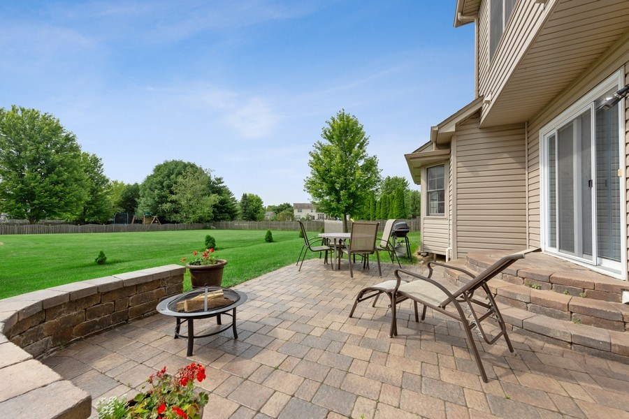 Real Estate Photography - 24265 Eagle Chase Drive, Plainfield, IL, 60544 - Patio