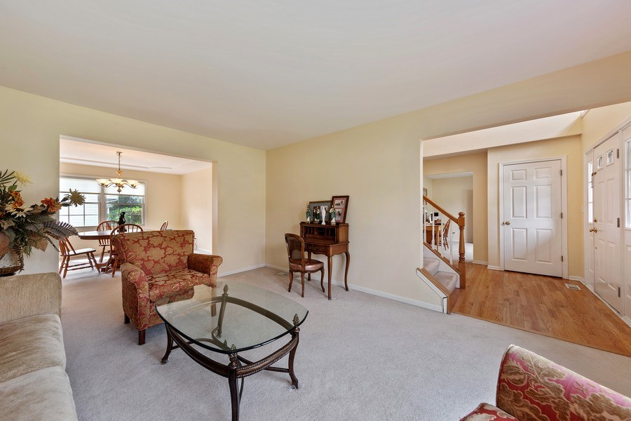 Real Estate Photography - 24265 Eagle Chase Drive, Plainfield, IL, 60544 - Living Room / Dining Room