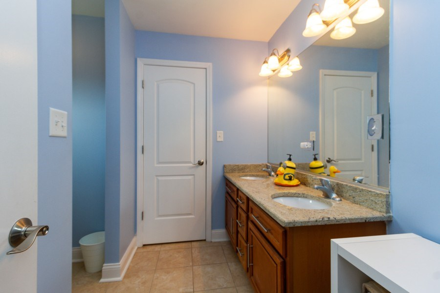 Real Estate Photography - 20035 Delphi Dr, Olympia Fields, IL, 60461 - 3rd Bathroom