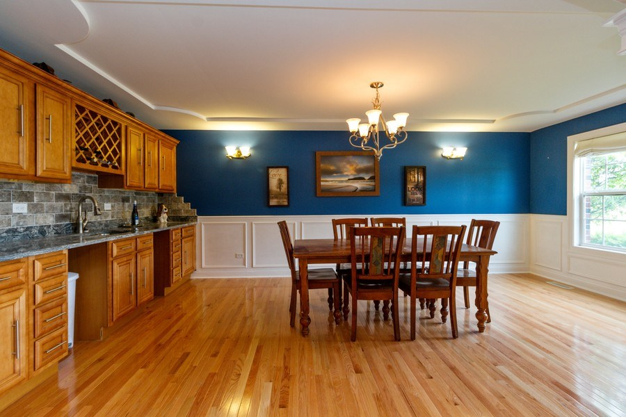 Real Estate Photography - 20035 Delphi Dr, Olympia Fields, IL, 60461 - Dining Room