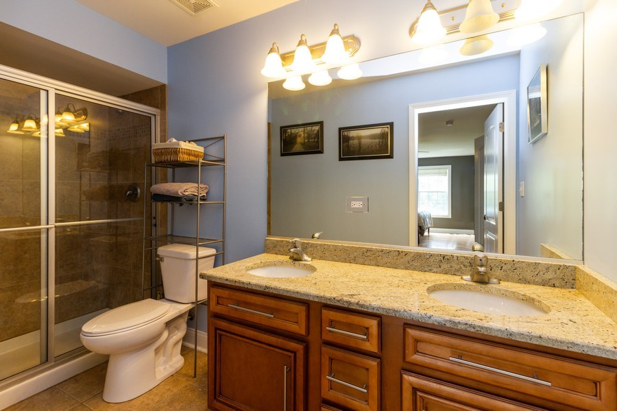 Real Estate Photography - 20035 Delphi Dr, Olympia Fields, IL, 60461 - Bathroom
