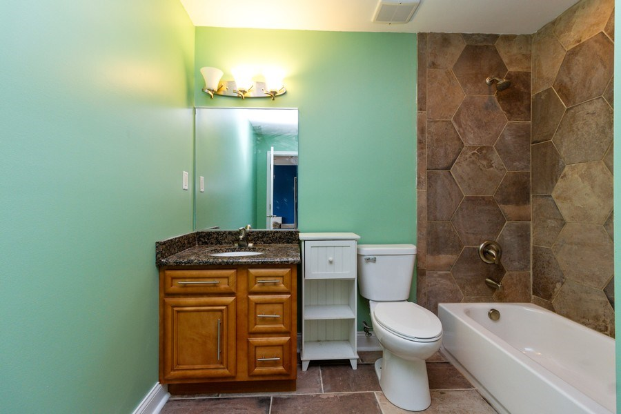 Real Estate Photography - 20035 Delphi Dr, Olympia Fields, IL, 60461 - 2nd Bathroom