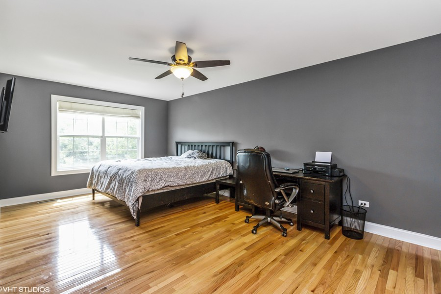 Real Estate Photography - 20035 Delphi Dr, Olympia Fields, IL, 60461 - 1st Floor Master Bedroom