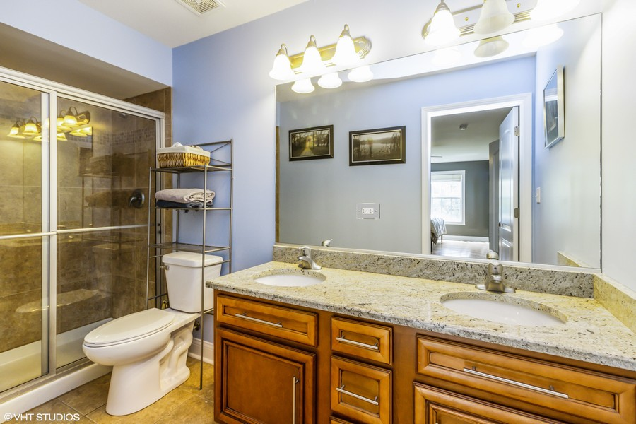 Real Estate Photography - 20035 Delphi Dr, Olympia Fields, IL, 60461 - 1st Floor Master Bath