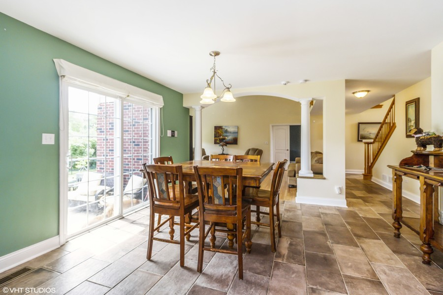Real Estate Photography - 20035 Delphi Dr, Olympia Fields, IL, 60461 - Breakfast Room