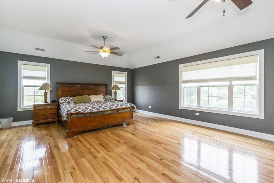 Real Estate Photography - 20035 Delphi Dr, Olympia Fields, IL, 60461 - 2nd Floor Master Suite Bedroom