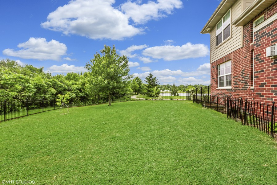 Real Estate Photography - 20035 Delphi Dr, Olympia Fields, IL, 60461 - Back Yard