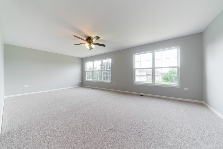 Real Estate Photography - 777 Barclay Drive, Bolingbrook, IL, 60440 - Master Bedroom