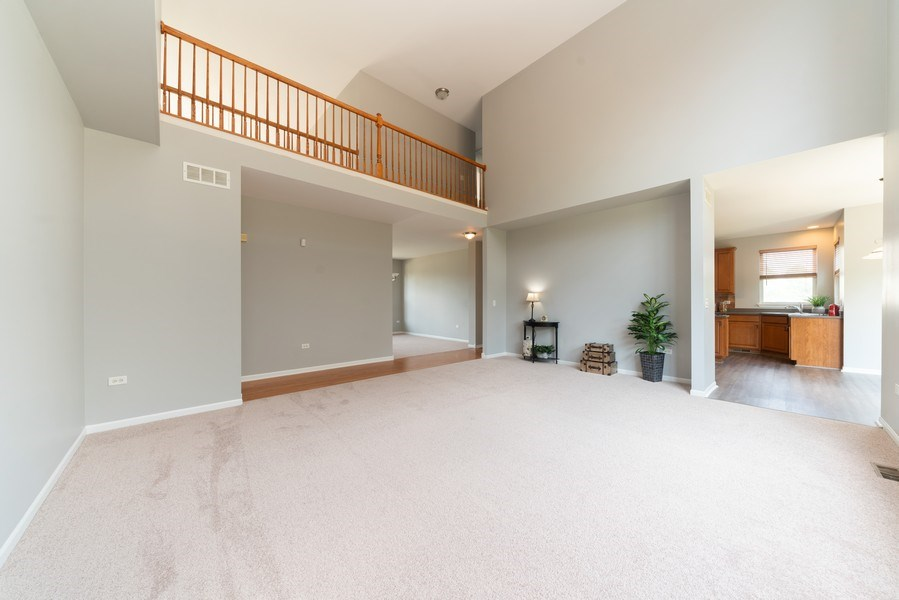 Real Estate Photography - 777 Barclay Drive, Bolingbrook, IL, 60440 - Family Room