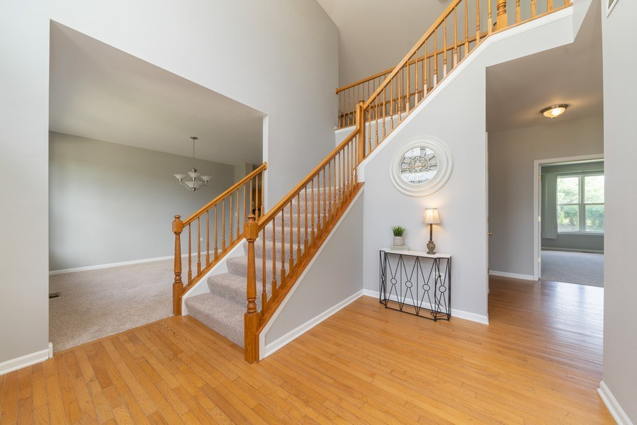 Real Estate Photography - 777 Barclay Drive, Bolingbrook, IL, 60440 - Foyer