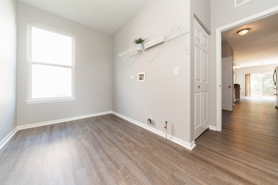 Real Estate Photography - 777 Barclay Drive, Bolingbrook, IL, 60440 - Laundry Room