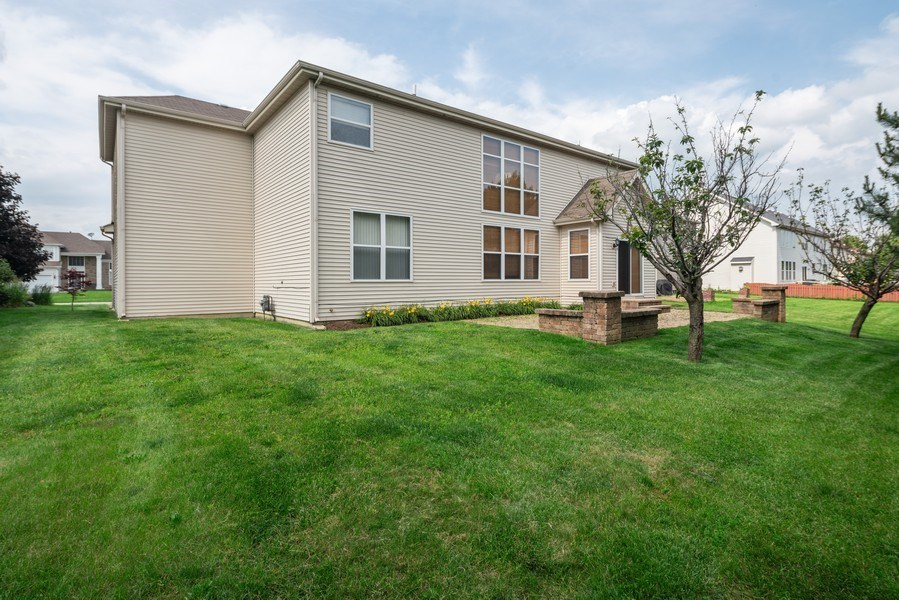 Real Estate Photography - 777 Barclay Drive, Bolingbrook, IL, 60440 - Rear View