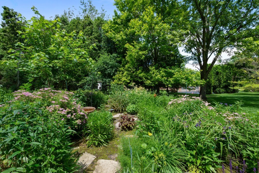 Real Estate Photography - 258 Pebble Creek Drive, Tower Lakes, IL, 60010 - Perennial Garden
