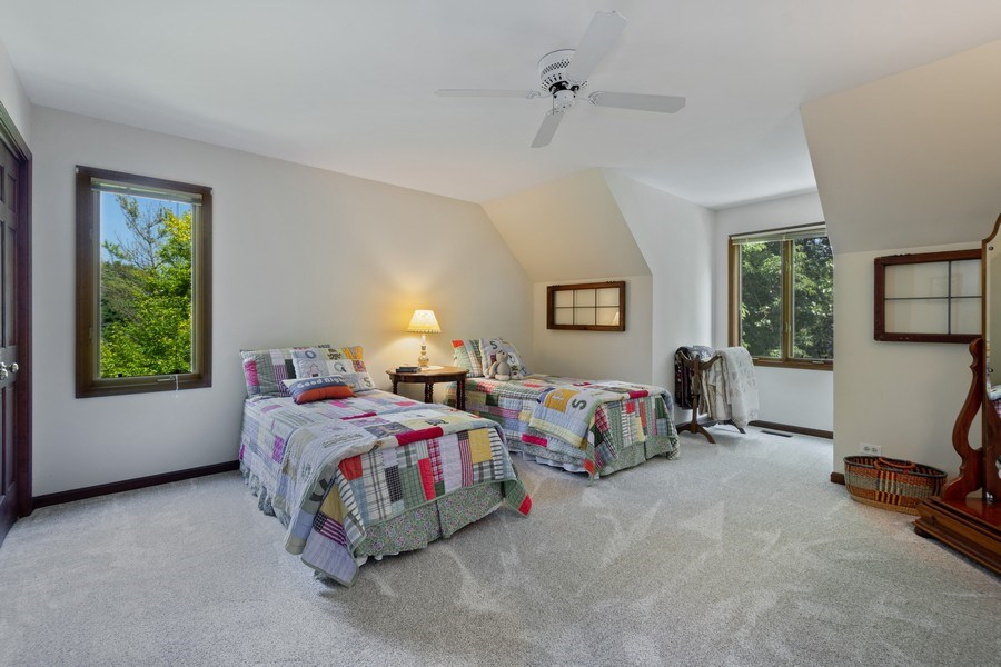 Real Estate Photography - 258 Pebble Creek Drive, Tower Lakes, IL, 60010 - Second Bedroom
