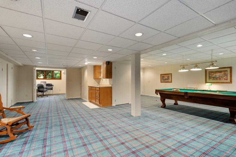 Real Estate Photography - 258 Pebble Creek Drive, Tower Lakes, IL, 60010 - Recreation Room