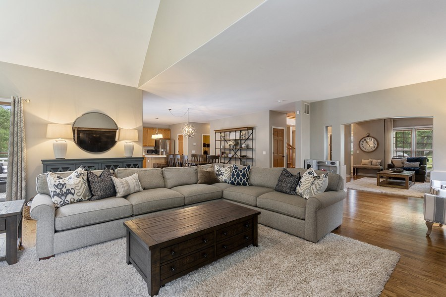 Real Estate Photography - 924 Erb Farm Lane, Naperville, IL, 60563 - Family Room