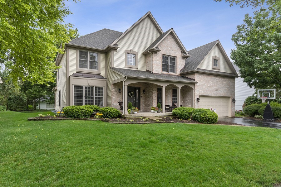 Real Estate Photography - 924 Erb Farm Lane, Naperville, IL, 60563 - Front View
