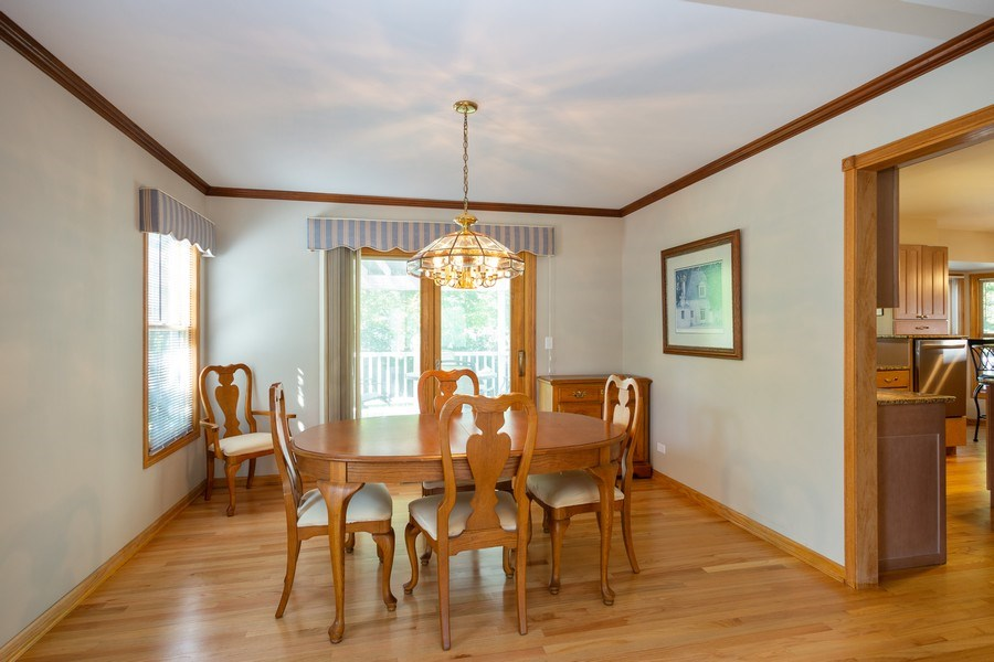 Real Estate Photography - 324 Ridgewood Drive, Bloomingdale, IL, 60108 - Dining Room