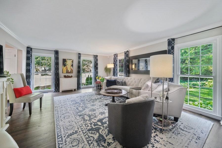 Real Estate Photography - 366 Indian Dr, Glen Ellyn, IL, 60137 - Living Room