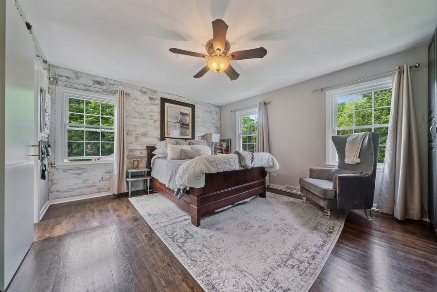 Real Estate Photography - 366 Indian Dr, Glen Ellyn, IL, 60137 - Master Bedroom