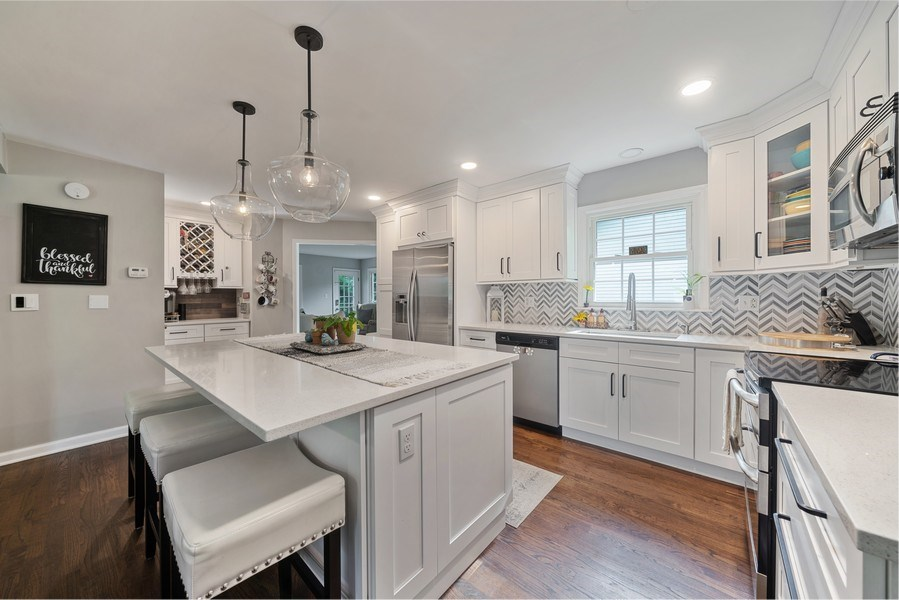 Real Estate Photography - 366 Indian Dr, Glen Ellyn, IL, 60137 - Kitchen