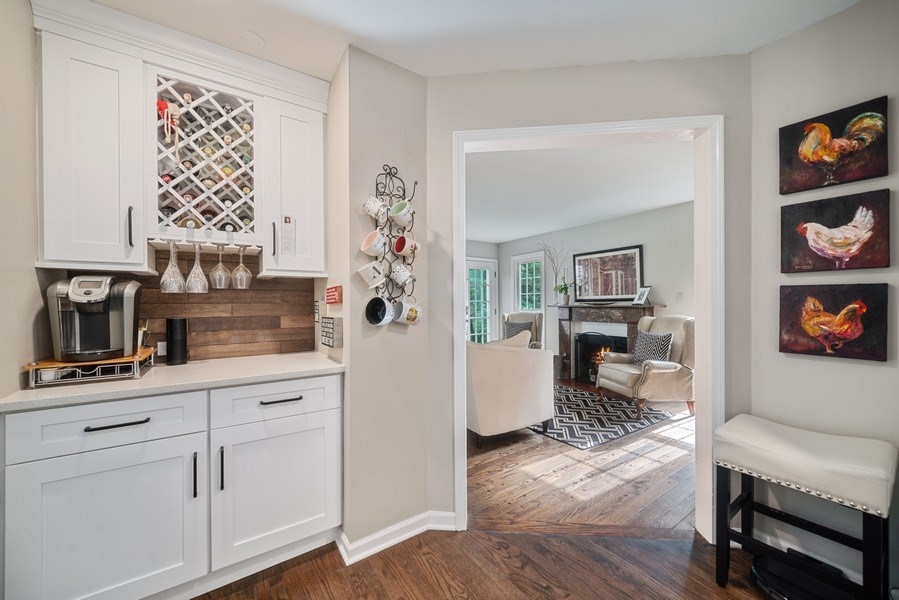 Real Estate Photography - 366 Indian Dr, Glen Ellyn, IL, 60137 - Butler's pantry