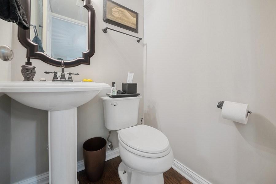 Real Estate Photography - 366 Indian Dr, Glen Ellyn, IL, 60137 - Powder Room