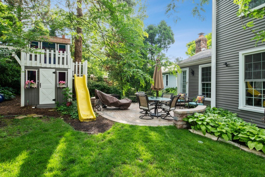 Real Estate Photography - 366 Indian Dr, Glen Ellyn, IL, 60137 - Rear View