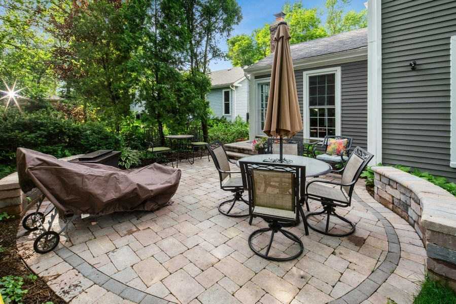 Real Estate Photography - 366 Indian Dr, Glen Ellyn, IL, 60137 - Patio
